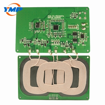 Wireless Charger Custome PCBA 3 Coils 5V-1A Transmitter