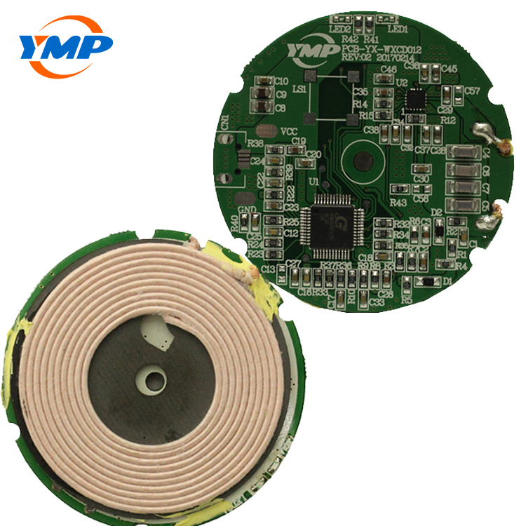 single coil 5V-1A transmitter wireless charger PCBA patch
